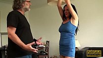 PASCALSSUBSLUTS - Tied Up Jess Scotland and Banged By Pascal