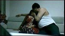 Indian desi wife in saree fucking Husband in house thumb