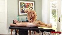 Beauty Blonde Kenzie Taylor Has Big Tits