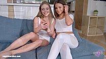 Lovemaking the lesbian way with Alessandra Jane... Thumbnail