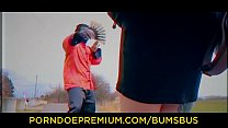 BUMS BUS - Redhead teen Kira Roller banged deep doggy style in the backseat Vorschaubild
