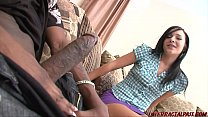 Girl 18 gets her first black dick