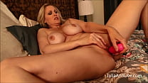 Mommy Stuffs Herself! MILF Julia Ann Finger Ban
