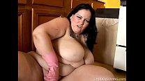 Beautiful BBW has great big tits صورة