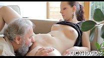 Young babe licked by an old guy - big booty nayara thumbnail