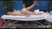 Slutty legal age teenager gets screwed hard by massage therapist