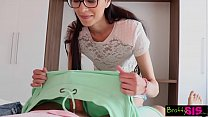 Bratty Sis - Helping Out His Needy StepSister S...