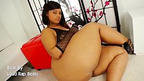Black BBW Model Tiffany Shakes Big Ass