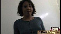Ebony in a huge bukkake 7 preview image