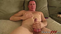 Solo daddy Santos Carlos loves masturbation and sex toys