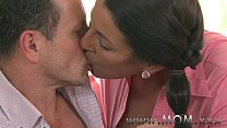 MOM Mature Brunette gets creamed