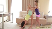 flexible girlfriends stretching thumbnail