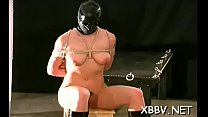 Tied up woman breast fetish torture scenes in sadomasochism xxx pornhub video