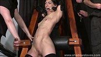 Enslaved painslut Elise Graves whipping in hard...
