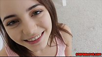 Cutie teen Kylie Quinn knows what stepbro really needs thumbnail