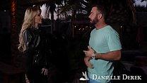Cougar Danielle Derek's big fake tits seduce a big fat cock! Naughty America - 9Club.Top