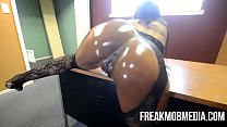 Armani Sticky's Big Black Booty gets drilled by... Thumbnail
