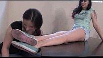 Lesbian Footdom -