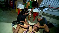 AMATEUR Geiler Gang Bang in Garage - Erotic Planet HD - AMATEUR Vorschaubild