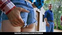 DaughterSwap - Kinky Teens Twerk For Hot Dad Cock Thumbnail