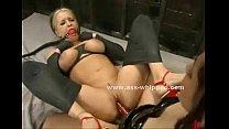 Brunette flogs a submissive tumblr xxx video