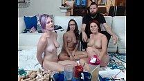 Foursome on webcam [웹캠 그룹섹스 webcam group]