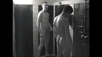 straight friends locker room shower hard on