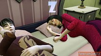 Japanese Son Fucks Sleeping Japanese Mom After