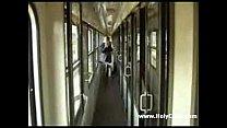 Fucking on the train
