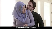 TeensLoveAnal - Analyzing Girl in Hijab pornhub video