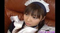 Naughty Natsumi is a hot Asian maid getting into cosplay sex preview image