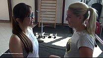 Stunning Christen Courtney fucks in the gym pornhub video