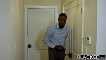 BLACKED Blonde Girlfriend Alexa Grace Cheats with BBC Preview