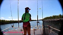 HD Tiny Asian Thai Heather Deep goes fishing an...