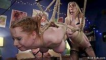 Lesbian otk spanking and anal fucking