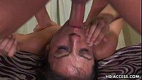 Brunette Nadia Styles Face Fucked
