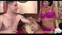 Horny Big Tits MILF Step Mom Veronica Avluv Has Sex With Big Cock Step Son In Her Bed - 9Club.Top