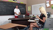 youjizz cp ◦ horny blonde Courtney Taylor fucking her fave prof thumbnail