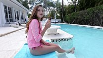 BANGBROS - Barely Legal Petite Cutie Drilled By The Pool porn image