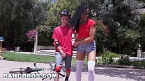 BANGBROS - Kira Noir Heals the Wounded on Brown... Thumbnail