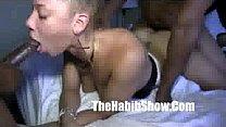 Ms. natural Mixed rican gangbanged deep throat sperm swallow