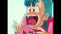 Dragon Ball z Bulma Shows her pussy ( Bulma Ens... thumb