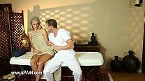 1-Secret voyeur movie of nasty masseur copulati...