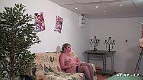 Image: BBW Mere de famille francaise prise en double penetration pour son casting porno