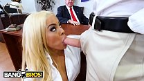 BANGBROS - The President Is Fond Of Pornstars, So He Invites Luna Star Over To Get Her Pussy Grabbed image