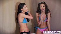 Intimate Lesbians - Watch Cameron and Carmen eating each others tight pussy