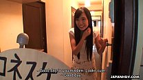Asian slut gets fucked real hard and is creamed preview image