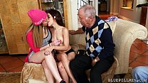 2 Young Girls for Old Guys