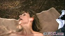 Horny Granny Juditta Moans Lustily While Getting Wet Pussy Hammered