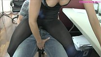 Teasing Ballbusting Assistant Ashley Sinclair PART 1 pornhub video